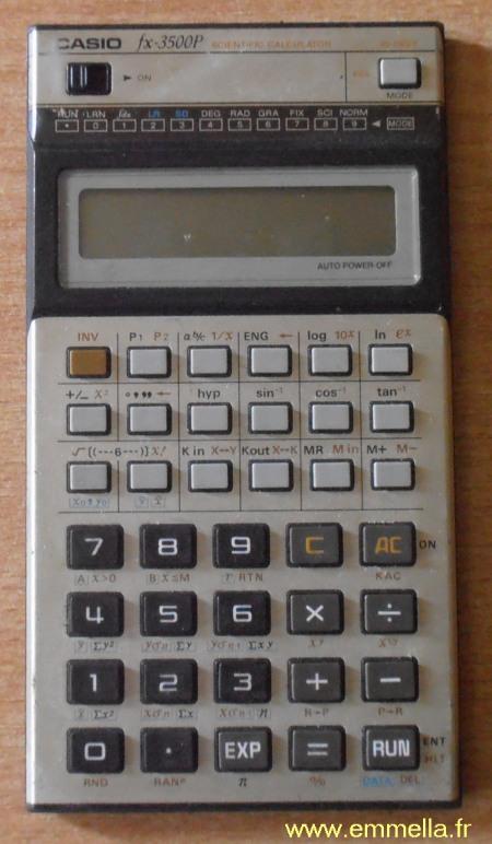 Casio FX-3500P