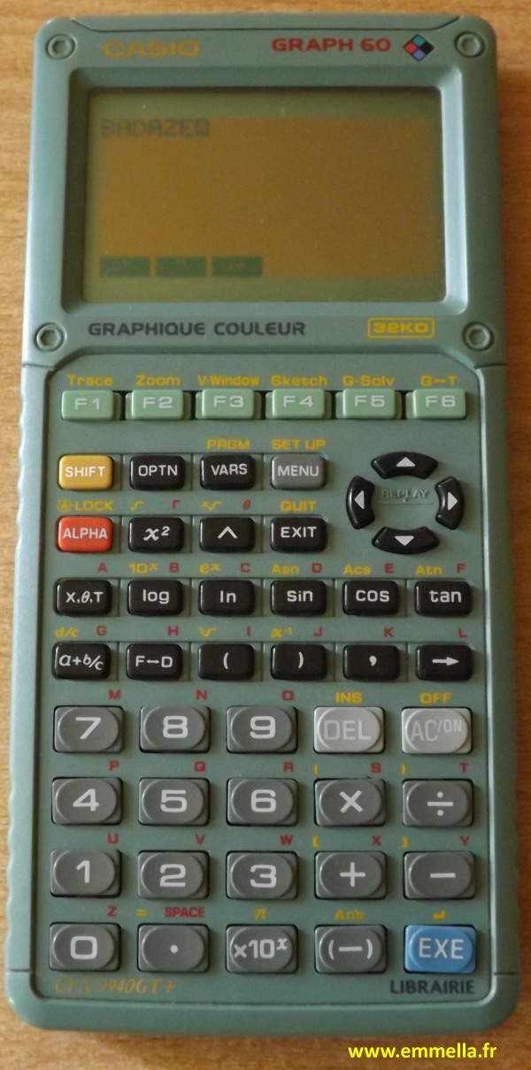 CASIO GRAPH 60