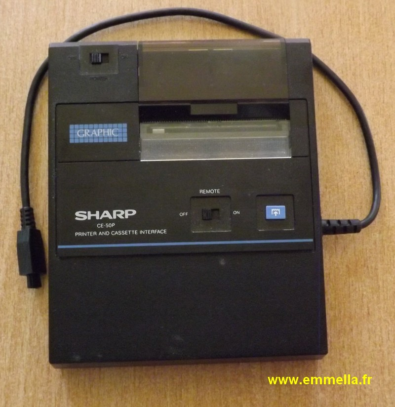 SHARP CE-50P
