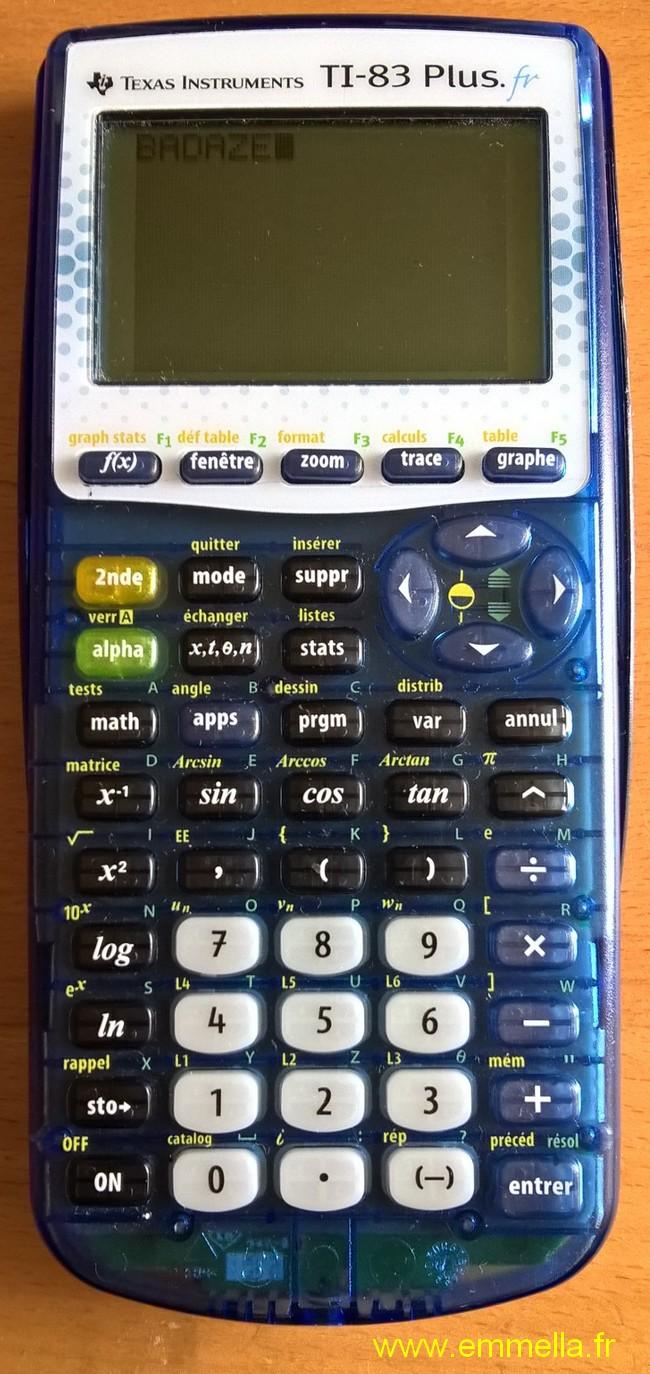 TTexas Instruments I 83+ FR