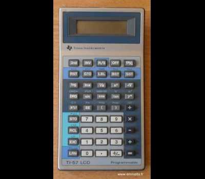 TI 57 LCD