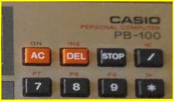 Casio PB-100 / PB-200