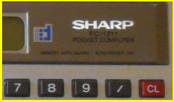 Sharp PC-1211 PC-1212
