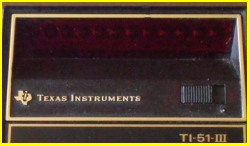 Texas Instruments TI 51 III