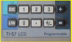 TI 57 LCD - TI 57 II