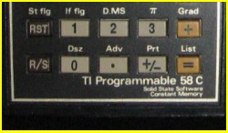 Texas Instruments TI 58C