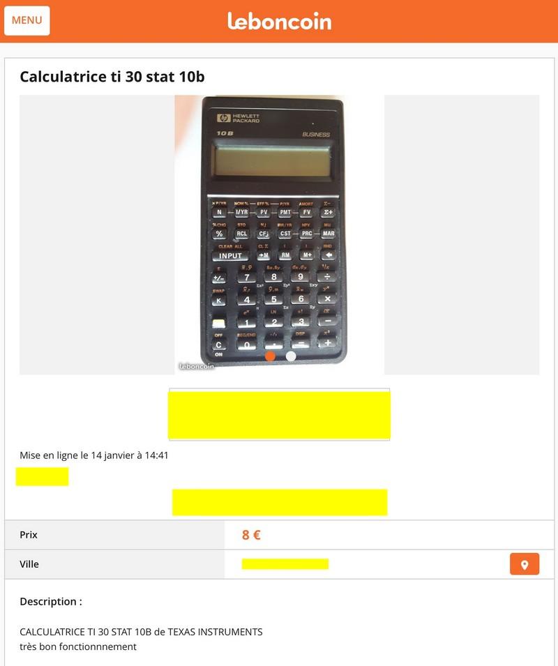 Texas Instruments TI 30 Stat 10B