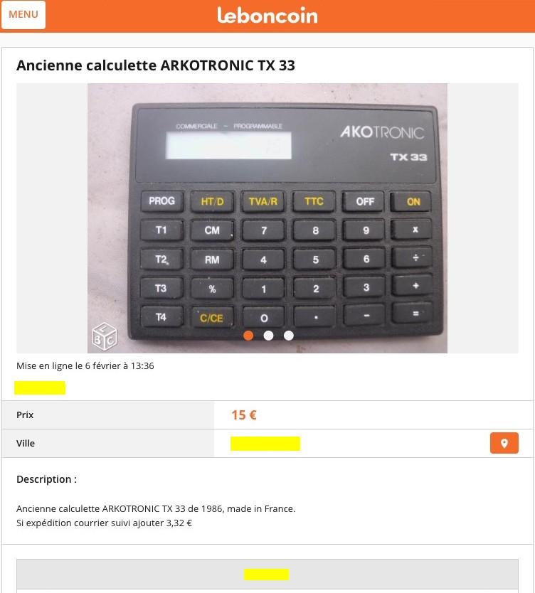 AKOTRONIC TX33