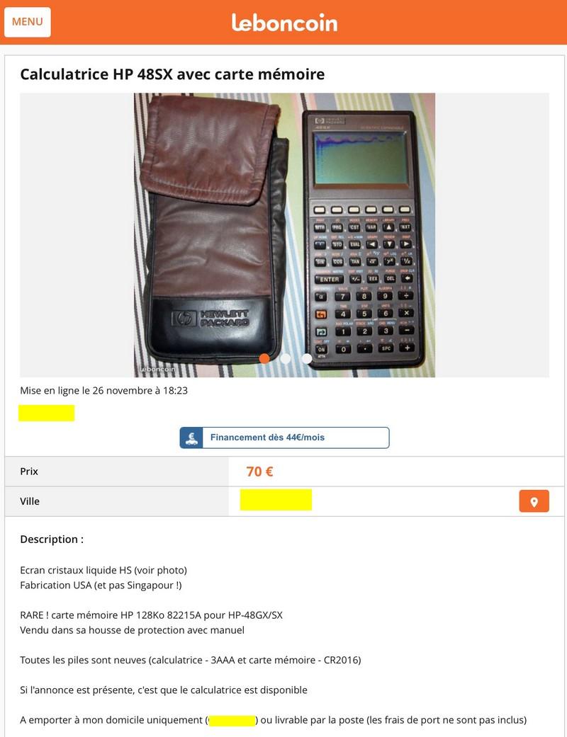 HP 48SX