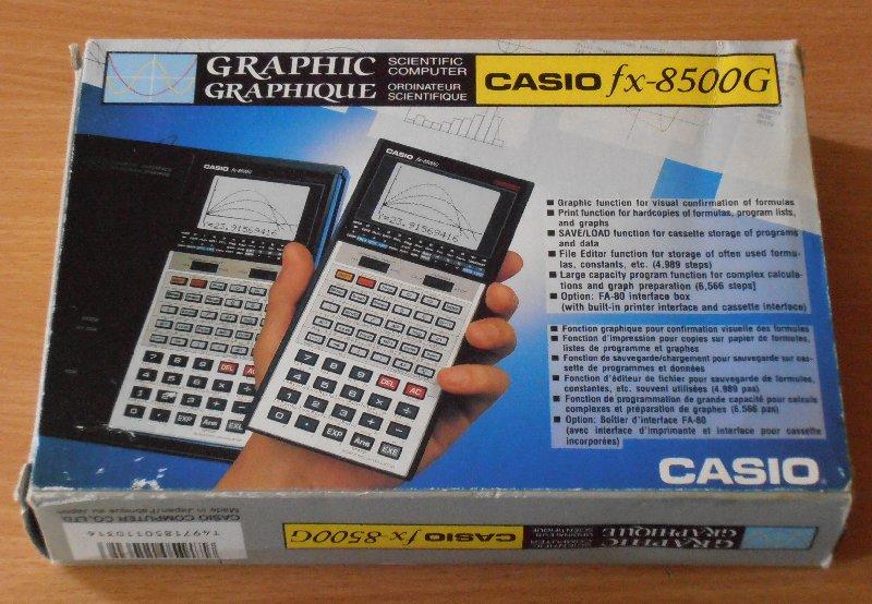 Casio FX-8500G boîte