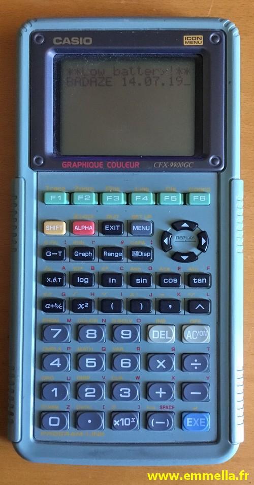 Casio CFX-9900 GC