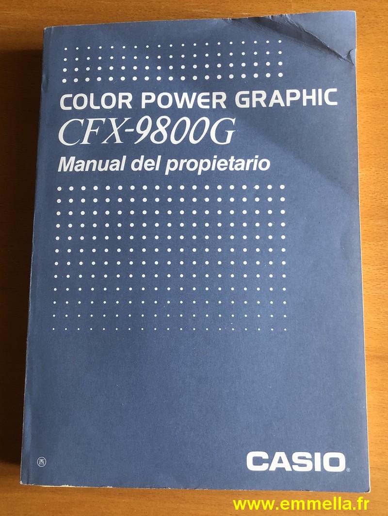 Casio CFX-9800G