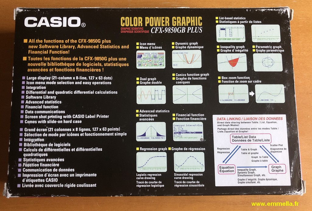 Casio CFX-9850 GB PLUS