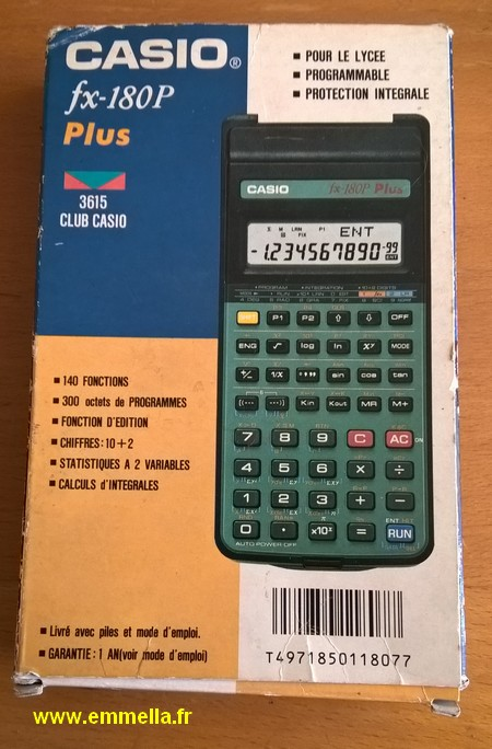 Casio 180P Plus
