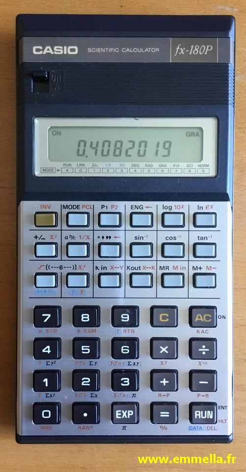 Casio FX-180P