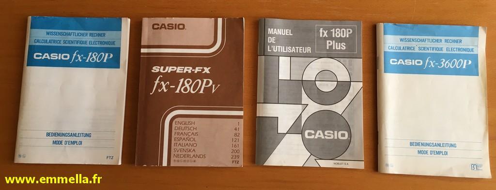 Casio FX 180P