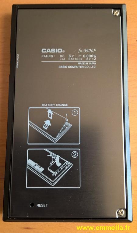 Casio FX-3900P