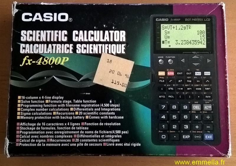 CASIO FX-4800P