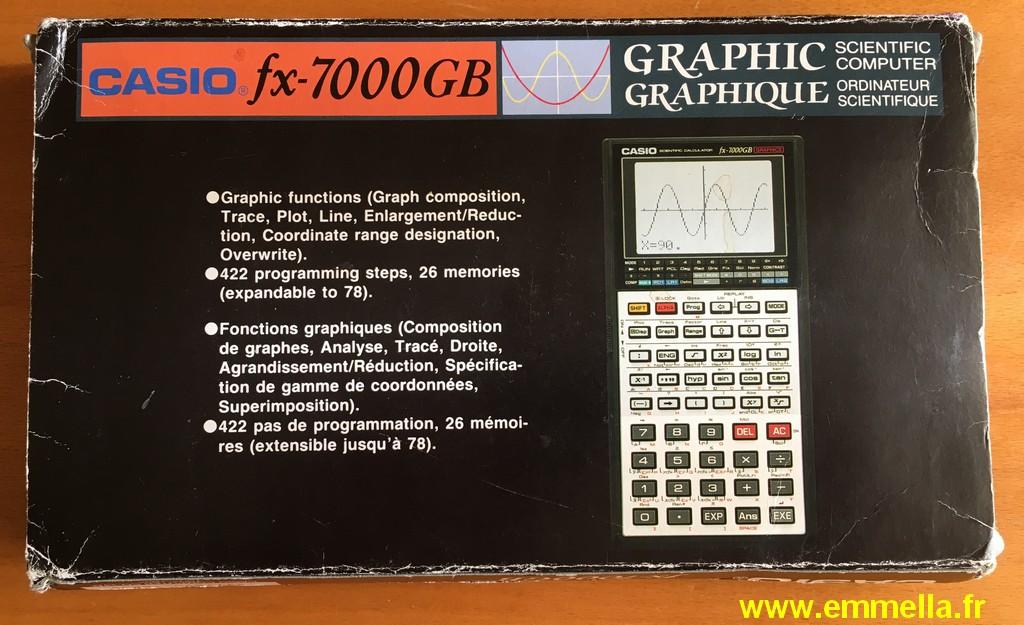 Casio FX-7000 GB
