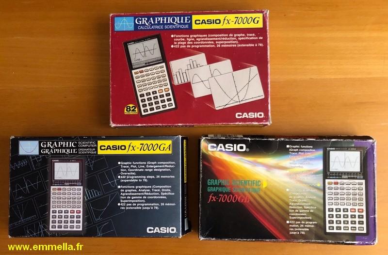 Casio FX-7000G Casio FX-7000GA Casio FX-7000GB