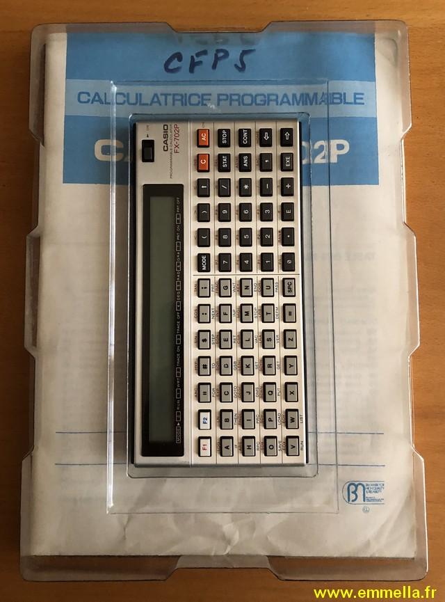 Casio FX-702P