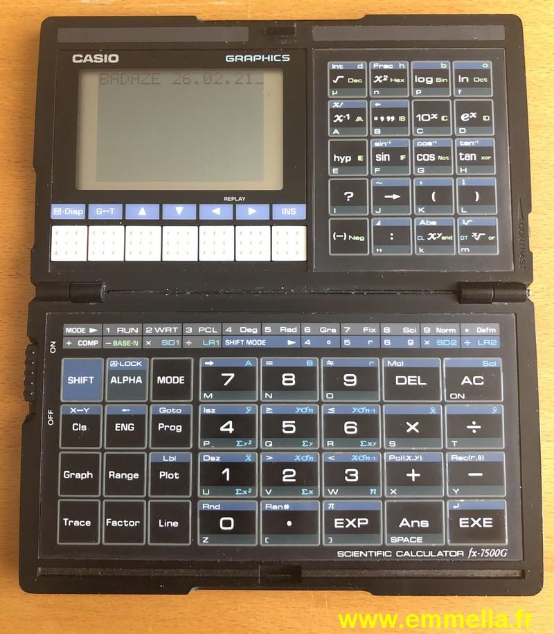 Casio FX-7500G