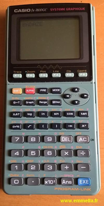 Casio FX-7800GC