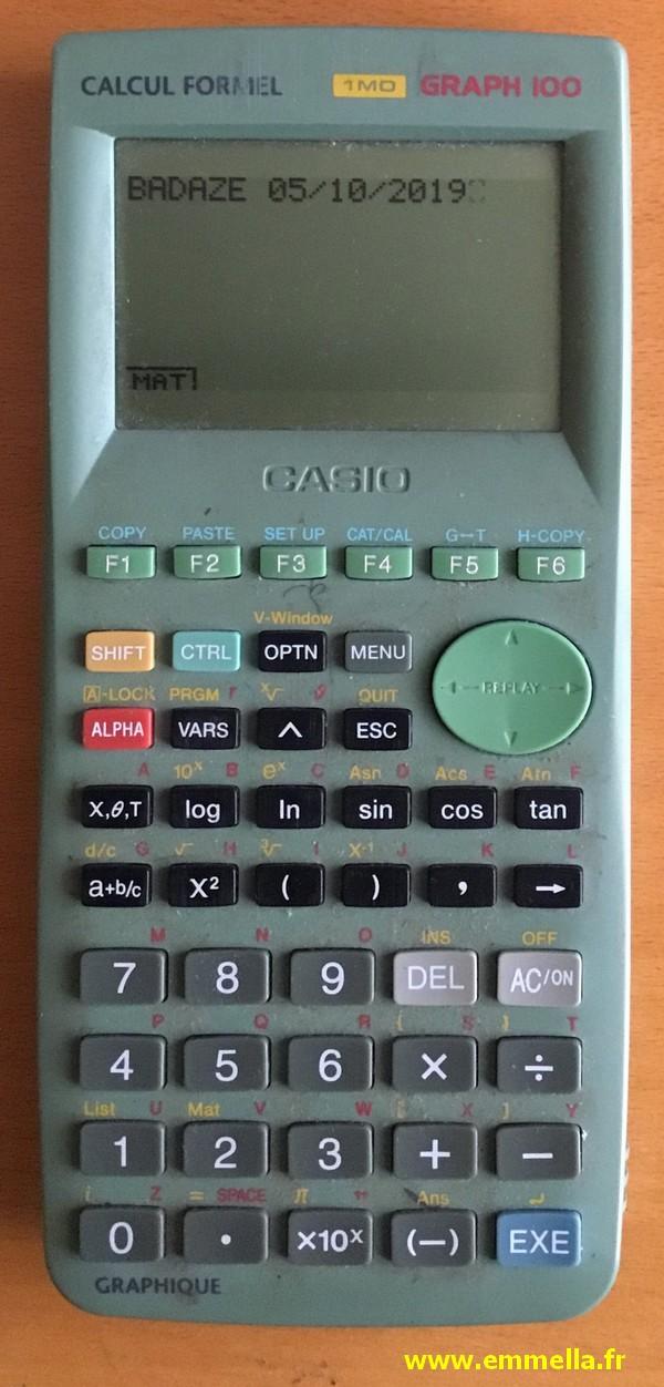 Casio Graph 100
