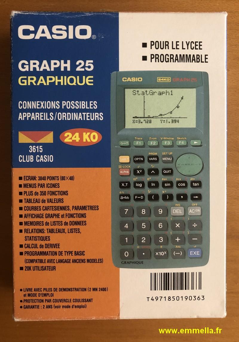 Casio GRAPH 25