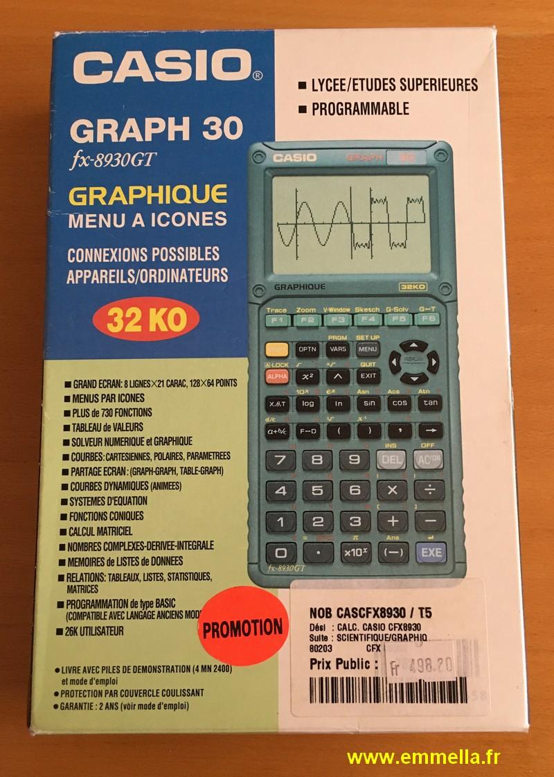Casio GRAPH 30