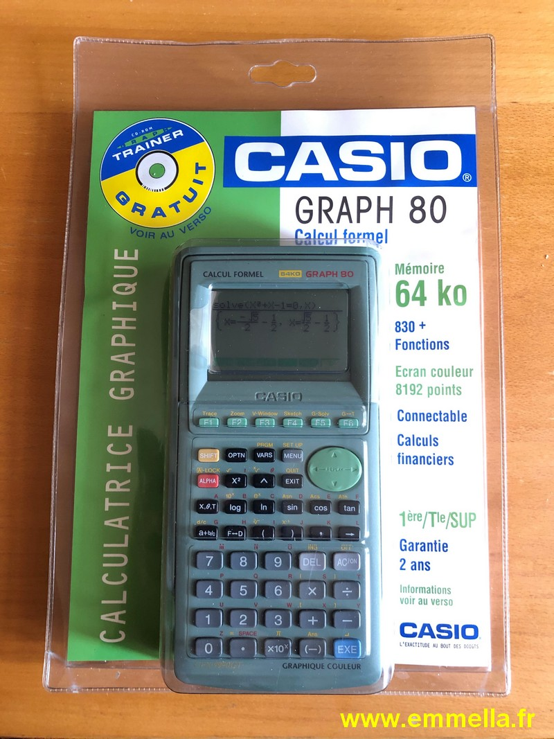 Casio GRAPH 80