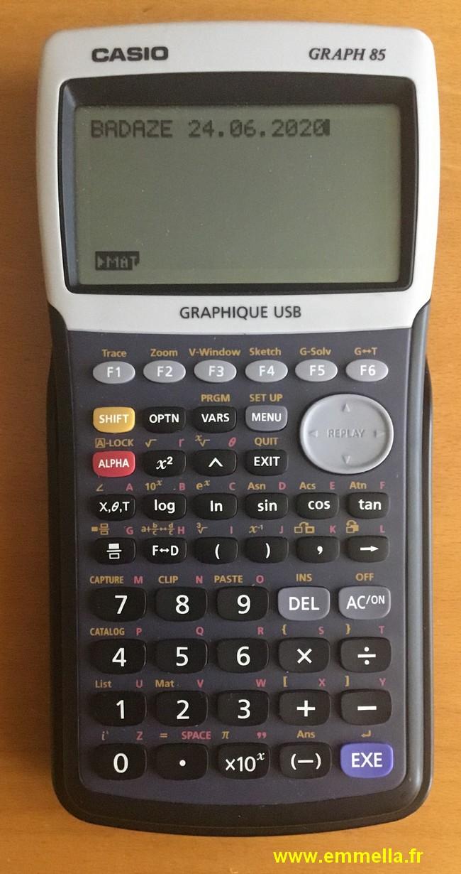 Casio Graph 85
