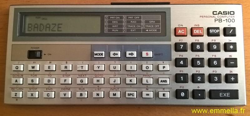 Casio PB-100