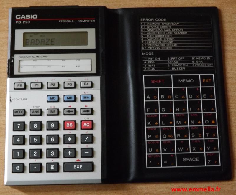 Casio PB-220