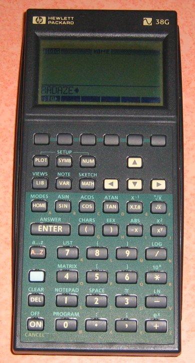 HP 38G