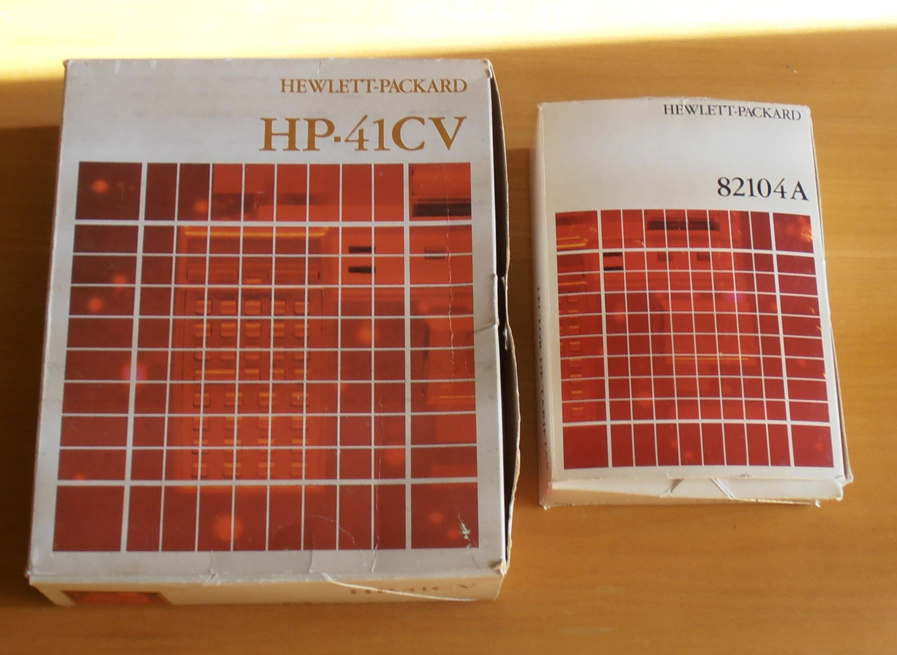 Boite HP 41 CV + boite lecteur de cartes