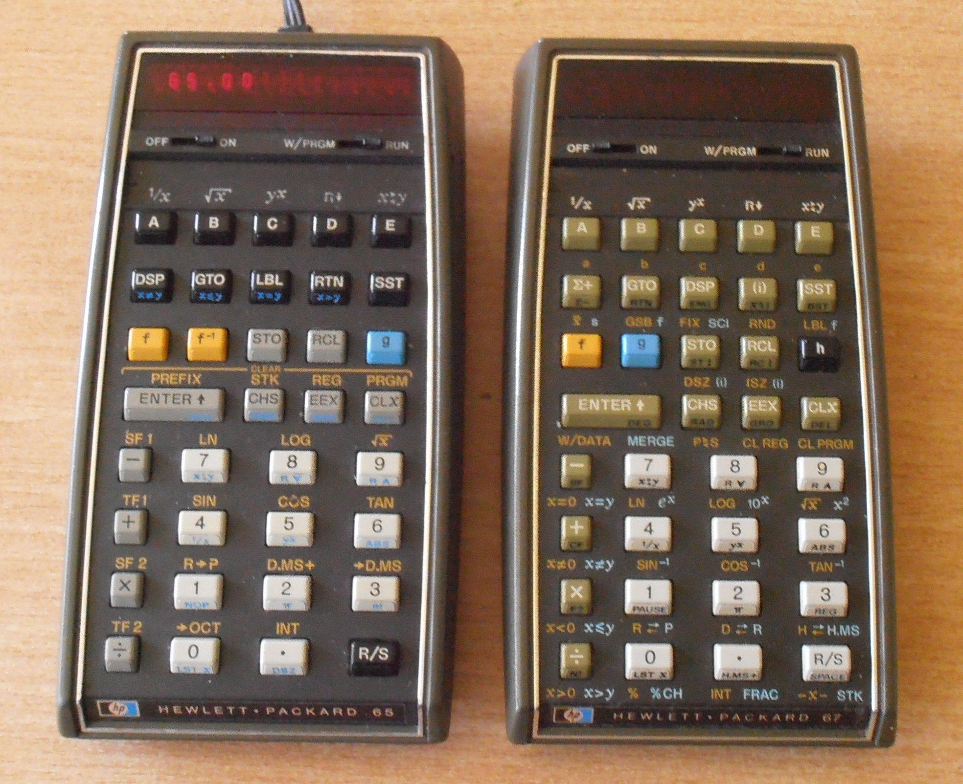 HP-65 & HP-67