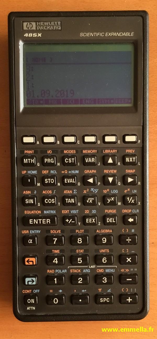 Hewlett-Packard HP-48 SX