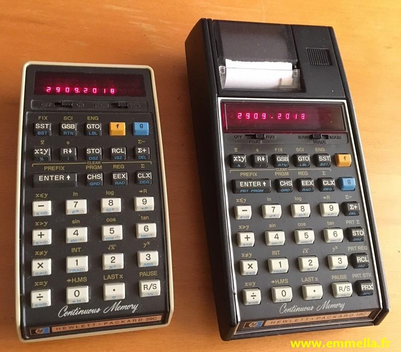 Hewlett Packard HP-19C & HP-29C