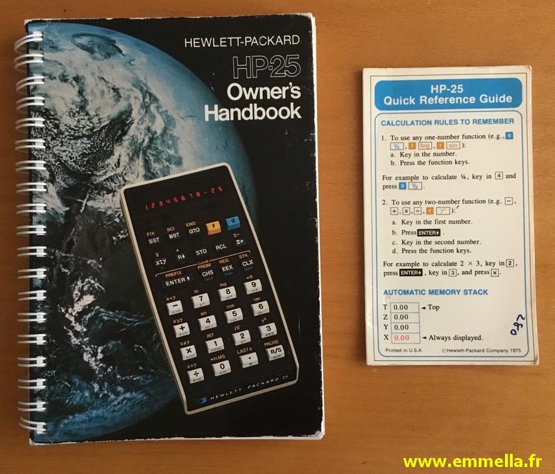 Hewlett Packard HP-25
