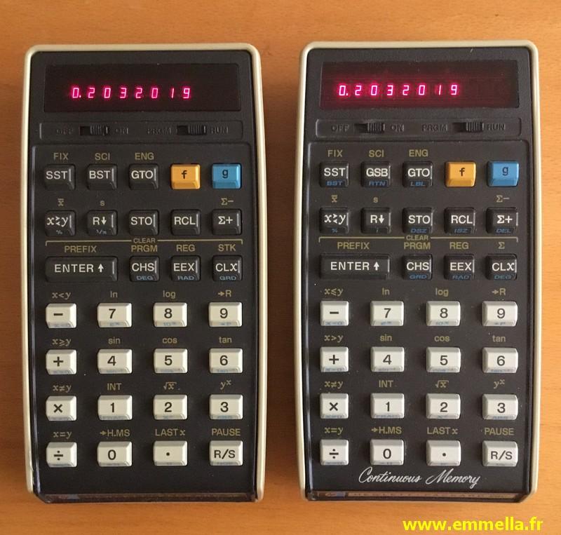 Hewlett Packard HP-25 & HP-29C