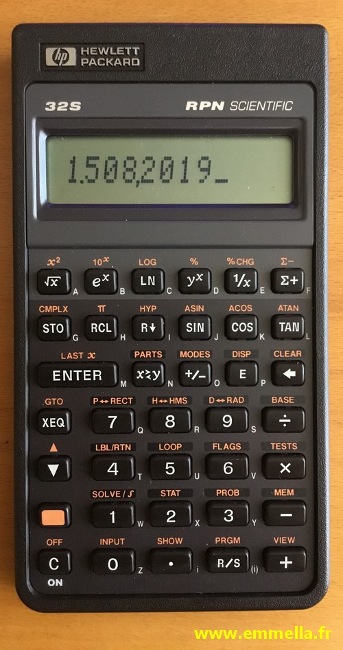 Hewlett-Packard HP-32S