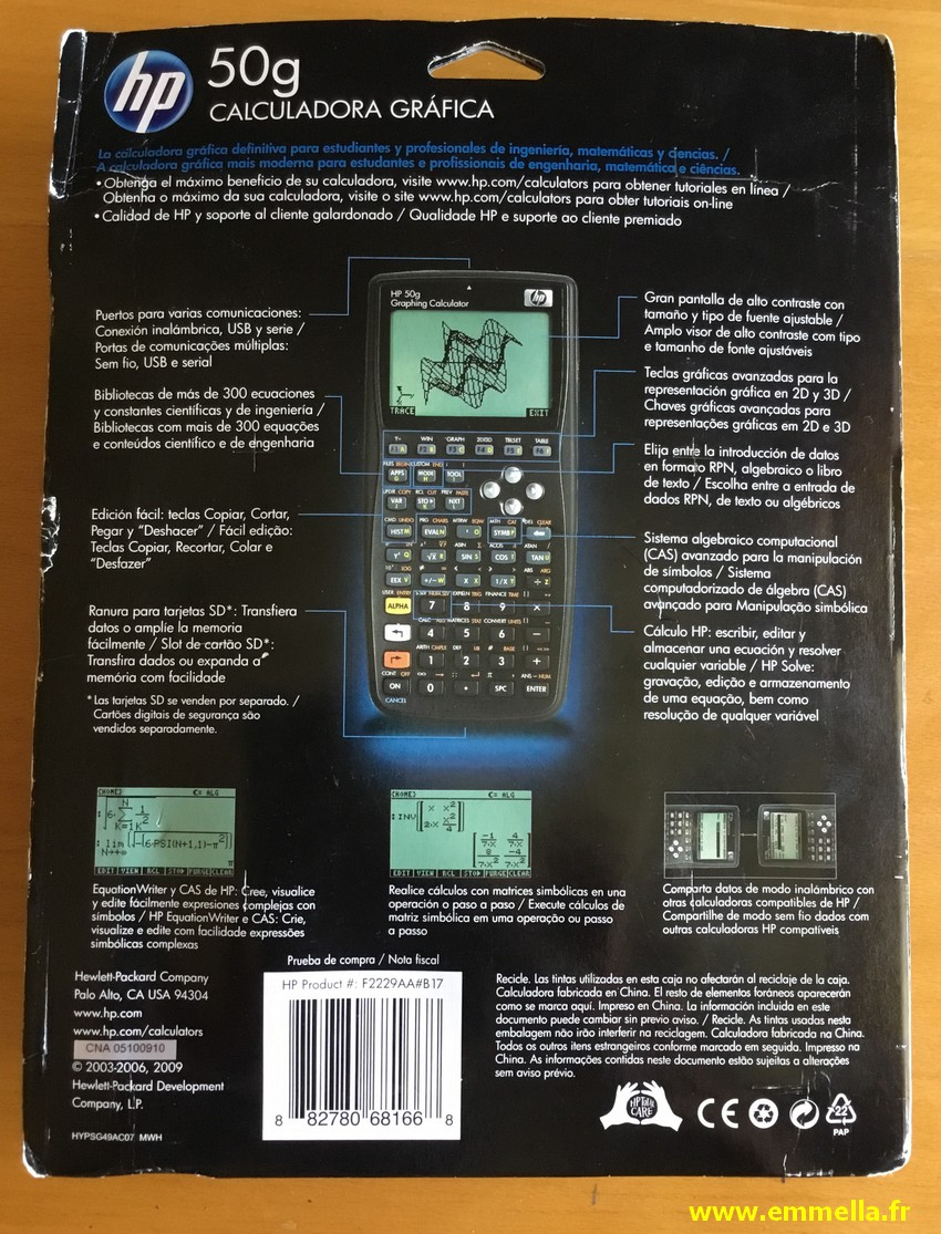 Hewlett-Packard HP-50G
