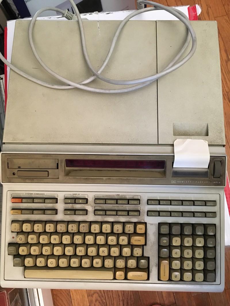 Hewlett-Packard HP 9825A