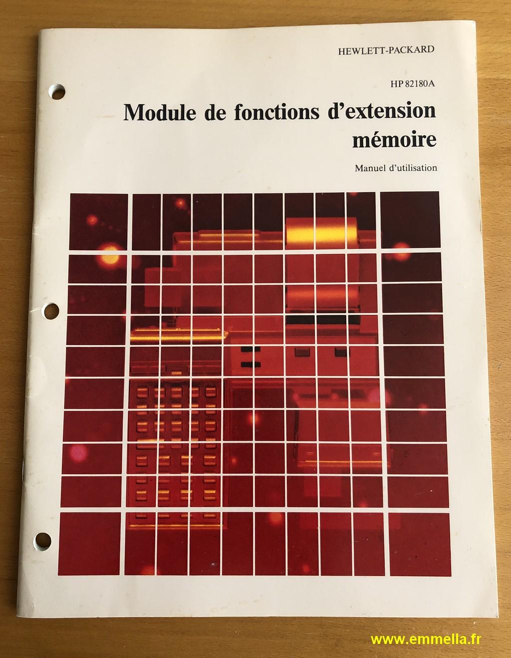 Module X-Functions pour Hewlett-Packard HP-41 C/CV