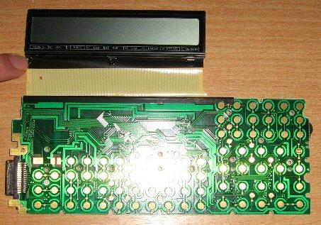 Casio FX-850P recto de la carte-mère
