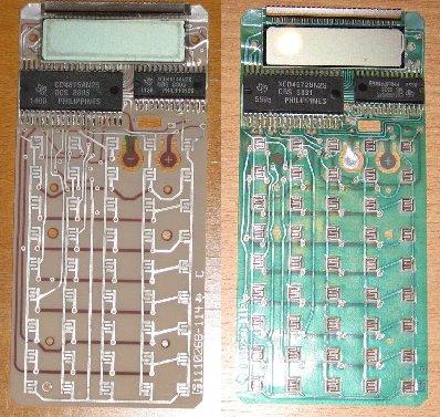 Comparaison TI 60 et TI 57 II