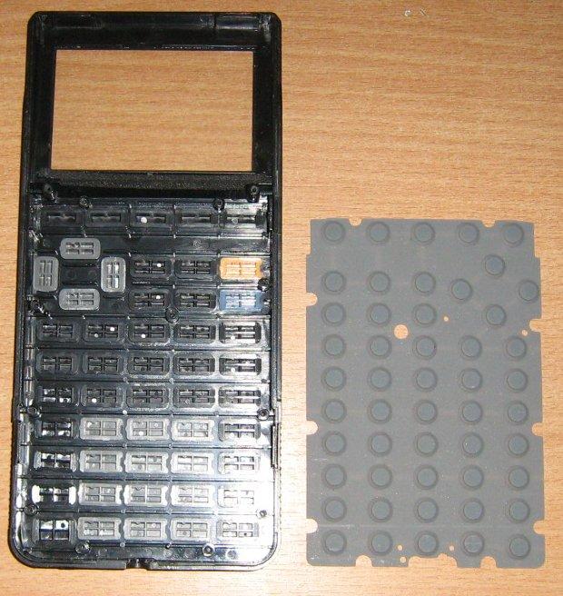 TI 85 côté clavier