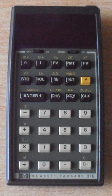 Hewlett-Packard HP-37E