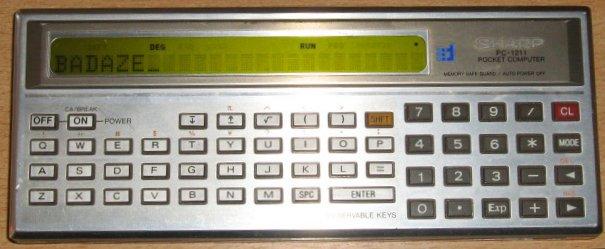 Sharp PC-1211